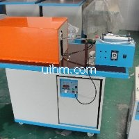 custom-build medium frequency pneumatic auto feed induction forging system
