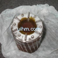 induction shrink fitting stator