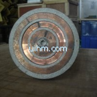 induction shrink fitting wheel