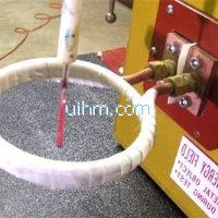 ultra-high frequency induction heating small screwd river