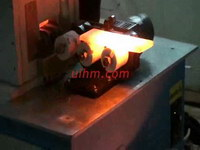 induction forging steel plate (iron plate) with auto pneumatic feed system