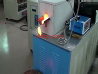 induction forging steel rod (steel bar) with auto electromotor feed system