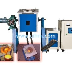 UM-80AB-MF medium frequency melting system