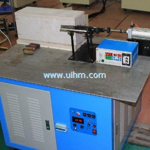 custom bulid pneumatic auto feed induction forging system