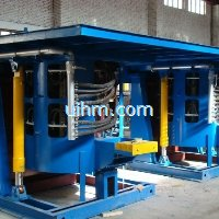 0.5T to 5T Steel Shell Hydraulic Tilting Furnace