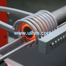 Induction heating principle and its application in the construction machinery