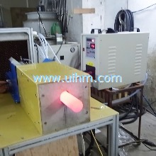 Custom build pneumatic auto feed induction forging machine