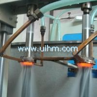 frequency induction heating equipment and quenching machine stainless steel quenching