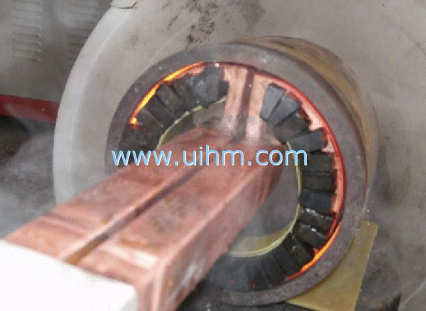 induction heating inner surface