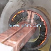 induction heating inner surface of drum