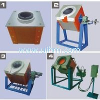 Main types of induction melting furnace