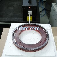 ultra high frequency induction annealing