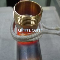 ultra-high frequency induction brass solder