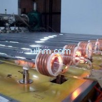 ultra-high frequency(uhf) induction vacuum coating for solar collector tube