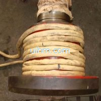induction installation (shrink fitting) couplings for Shaft Collar with flexible induction coil