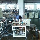 Induction heaters under testing in workshop