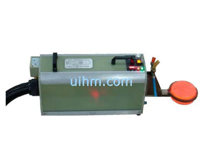 handle head machine of air cooled DSP induction heater