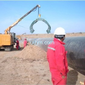 Air Cooled clamp coil (half-open coil) for preheating gas pipeline