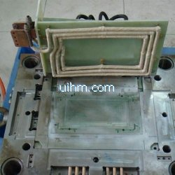 induction heating injection mold of notebook computer (laptop)