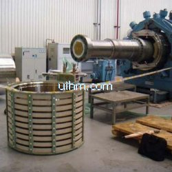 induction unassemble 2Ton guard ring of turbine