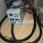 air cooled UM-DSP40A-RF machine with water cooled flexible handheld head part
