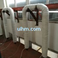 induction heating steel pipe for getting hot water