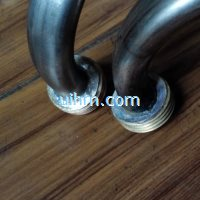 induction jointing SS steel pipes