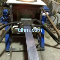 induction melting for Continuous Casting