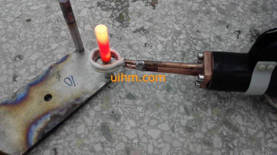 water cooled flexible handheld induction coil for heating SS steel pipes (5)