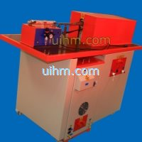 UM-40AB-MF induction heater with auto feed system