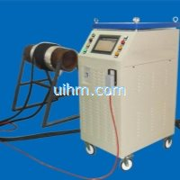 customized 60KW full air cooled induction heater with flexible induction coil for pipeline preheatin