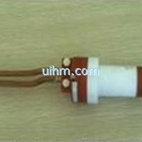 induction coil for bolt expansion for turbine