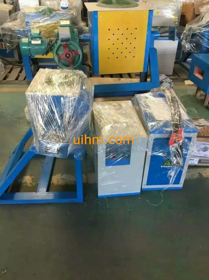 MF induction tilting melting machines_1