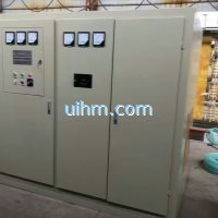 400KW scr induction heater