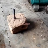 induction heating hss billet by handheld induction coil (6)
