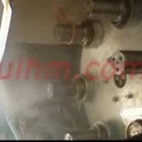 induction quenching HSS steel axle with auto feed system