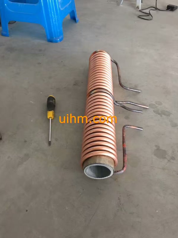 induction forging long steel rods by MF machine (2)