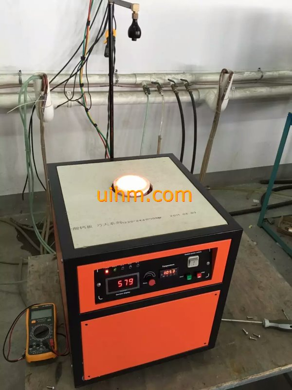 induction gold melting machines (5KW for melting 1~3KG gold)