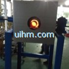 15kw full air cooled induction heater for heat preservation