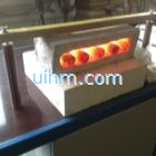 customized MF induction heater for forging steel rods