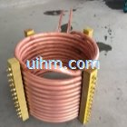 customized induction coil for heating steel pipe end