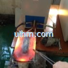 flat pancake induction coil for heating steel plate