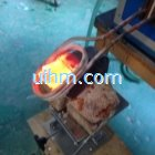 induction brazing drill bit of transformer