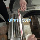 induction brazing stator