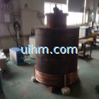 induction heating steel pot bottom