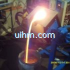 induction melting furnace by MF induction heating machine