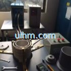 induction shrink fitting aluminium motor frame