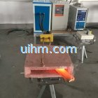 induction tempering copper plate
