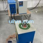 return-blank type induction furnace for melting SS-Steel