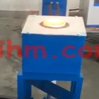 small gold melting machine with ejection crucible